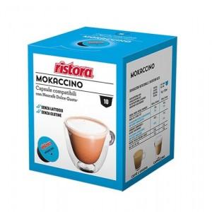Ristora Mokaccino capsule compatibile Dolce Gusto cutie 10 buc
