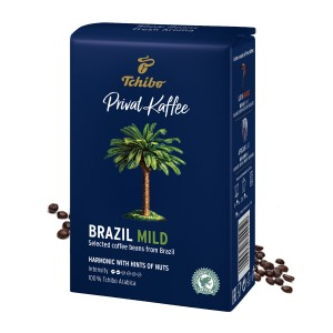 Tchibo Privat Kaffee Brazil Mild cafea boabe 500g