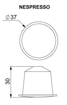 dimensiuni capsule nespresso