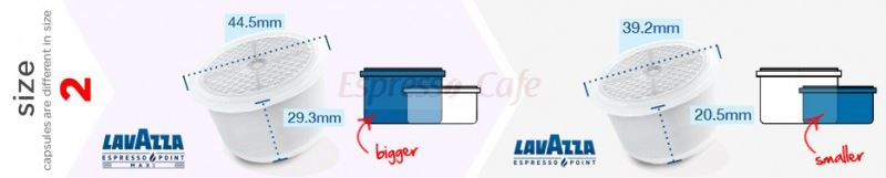 lavazza espresso point vs lavazza espresso point maxi