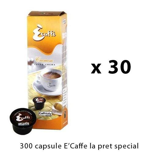 Oferta 300 capsule E'Caffe Cremoso