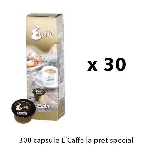 Oferta 300 capsule E'Caffe Prezioso