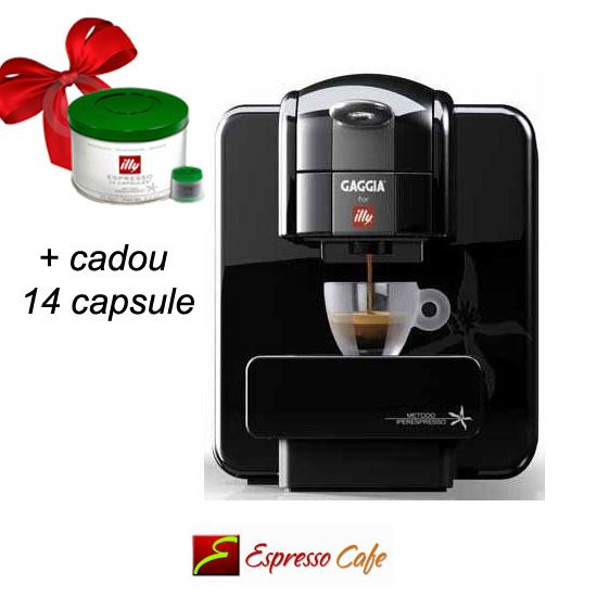 Gaggia for Illy cadou 14 capsule