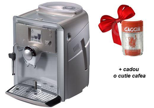 Gaggia Platinium Vision cadou o cutie cafea Gaggia