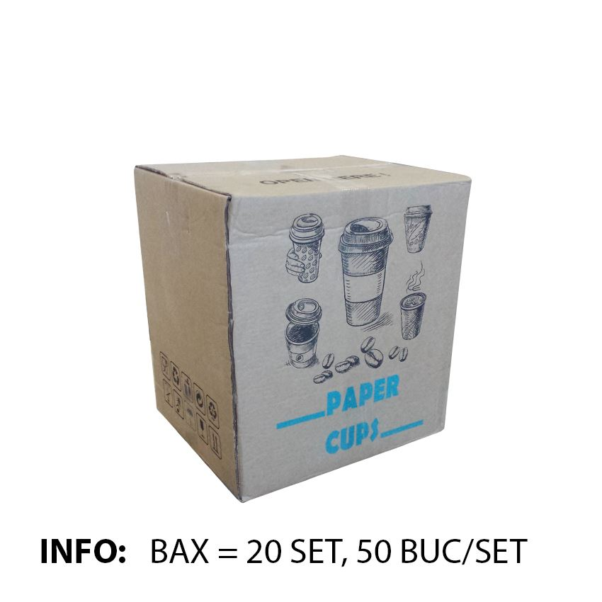 info bax pahare cappuccino 8oz