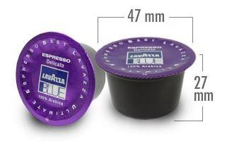 dimensiuni capsule lavazza blue