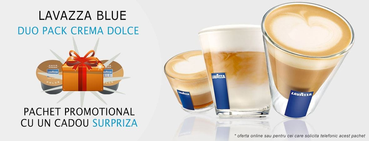 Lavazza Blue Duo Pack