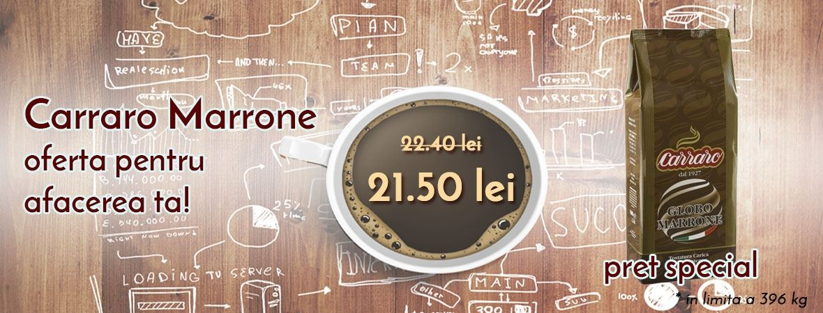 carraro marrone cafea boabe