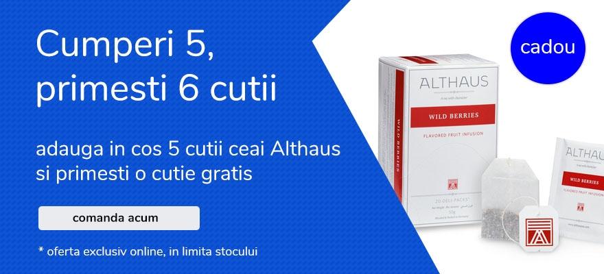 oferta ceai althaus